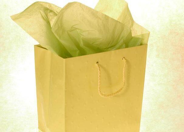 Fashionabelt gavepapir
